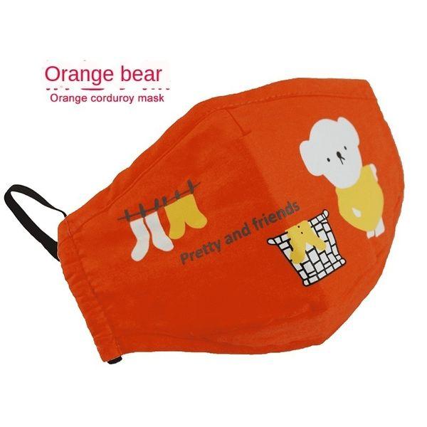 orso arancione (inviare un pezzo di filtro)