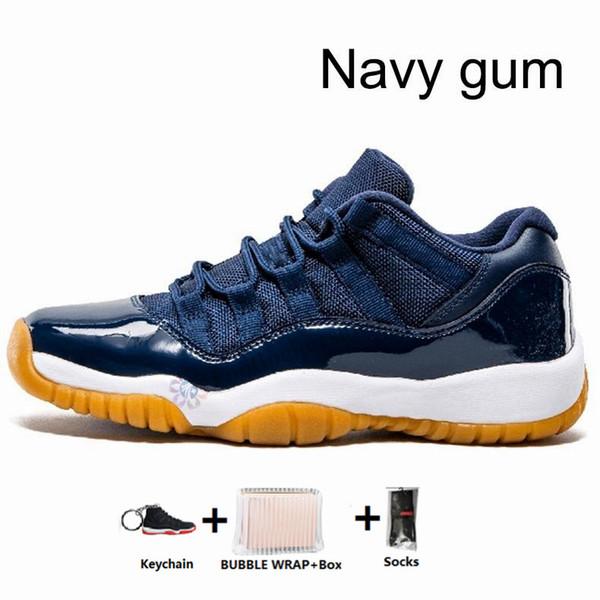 11s-Navy gum