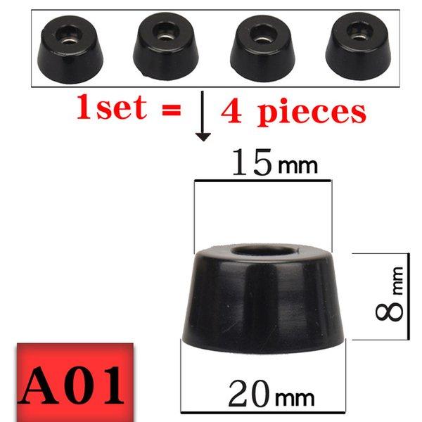 Accessori Speaker HIFIDIY DIRETTA 4PCS AUDIO Amplificatore di gomma Piedi altoparlante pad macchina stand Pad Spikes Cono Piano