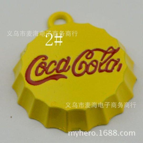 2 # Yellow (100) de 25 mm -Amplias Botella Cola C