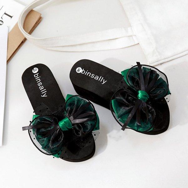 Green 5.5cm Heel