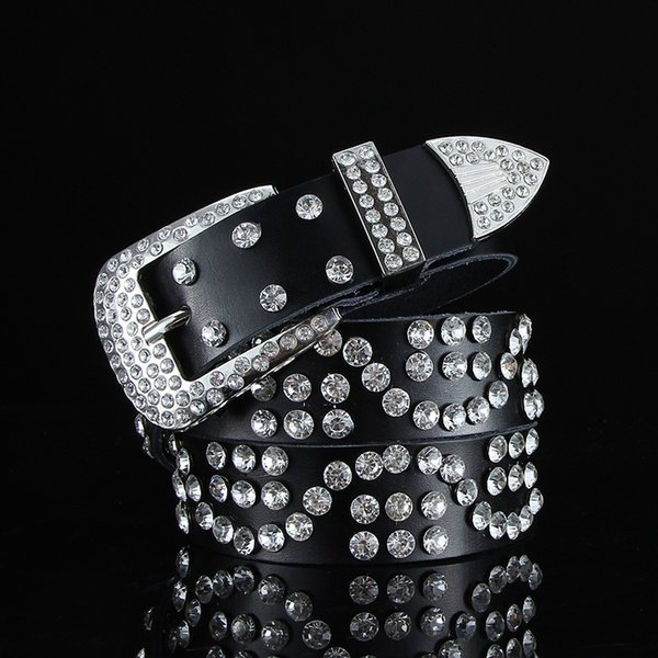 S-tipo completo diamante Negro