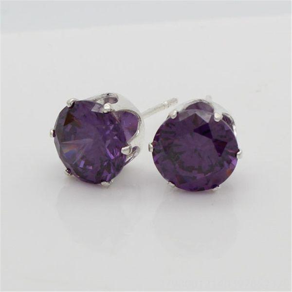 Фиолетовый Циркон-8 мм (мм)
