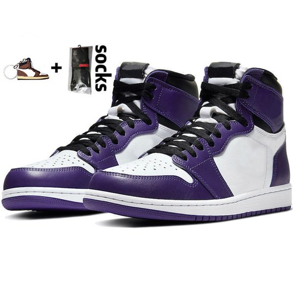 6 Court Purple White.