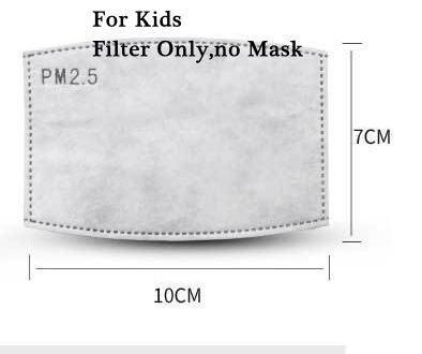 Enfants Filtrer Seulement, Masque Non