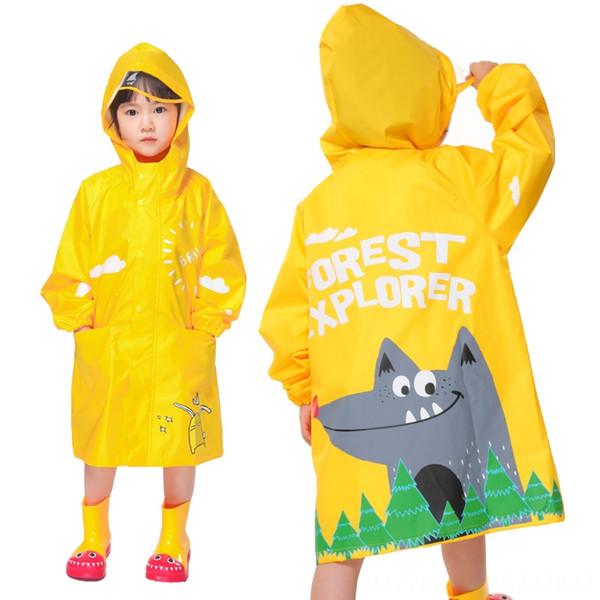Yellow Fox Дождевик