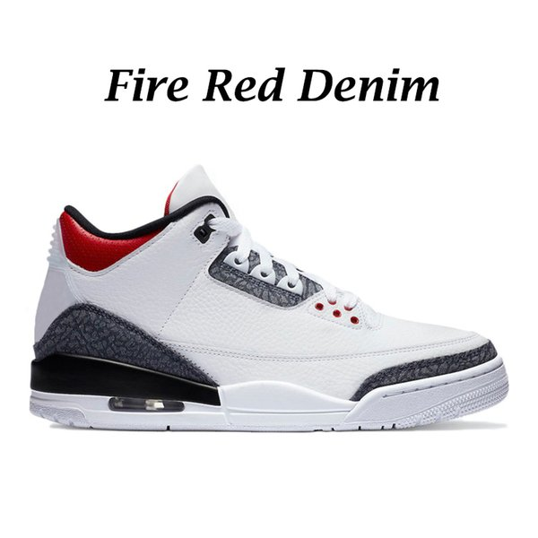 Fire Red Denim