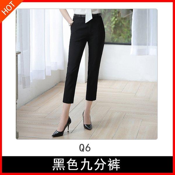 Q6 pantaloni neri