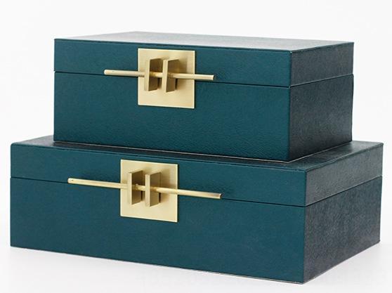 Синий Plain Pattern-Small Box