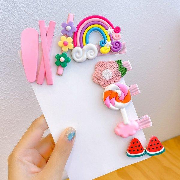 16 # 8 pièces Set de Pink Hairpin (sans