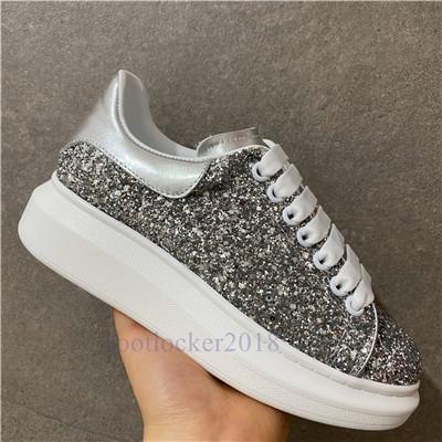 Silberglitter
