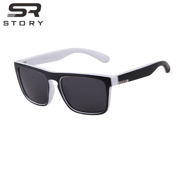 C9 White Black Frame-gray