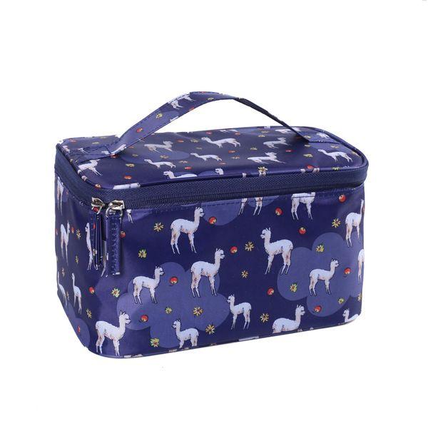 Escuro alpaca azul