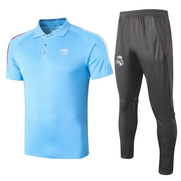 C511 # 2021 Kit de polo bleu