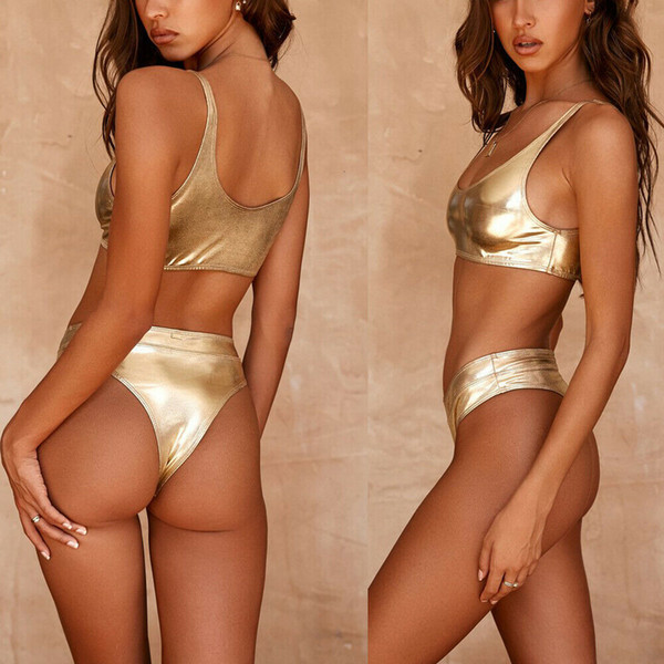 Gold Two Pieces