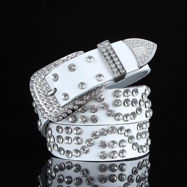S-tipo completo diamante blanco