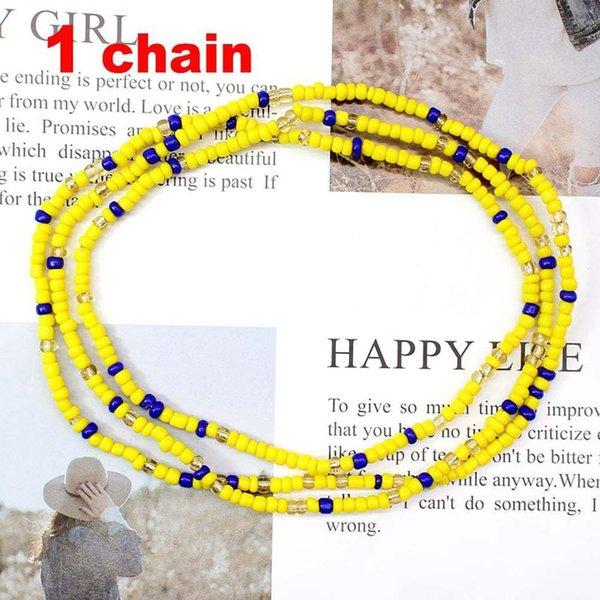 1 Pc Sarı Mavi