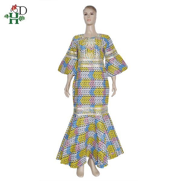 2020 H D Robe Wax Africain Femme Ankara Maxi Dresses Nigerian Fashion Dashiki Ladies Clothes Elegant Dress Women For Wedding Party Cx200813 From Dang01 36 18 Dhgate Com
