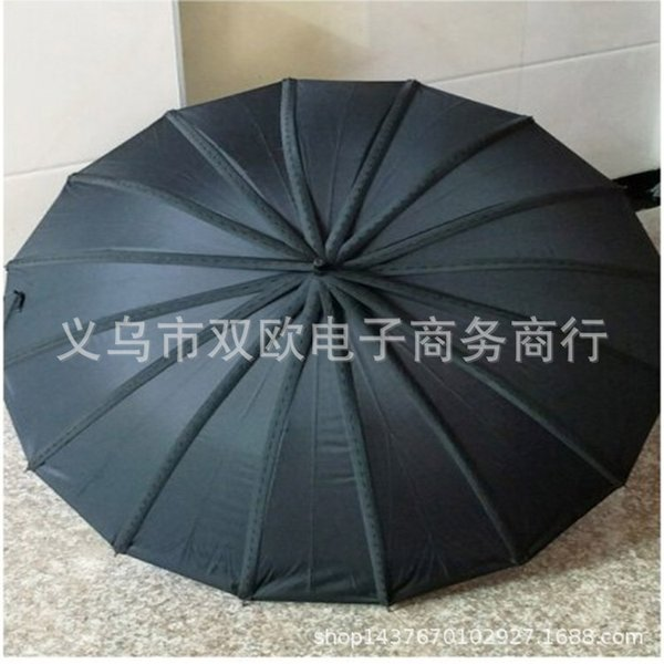 16 Noir Parapluies