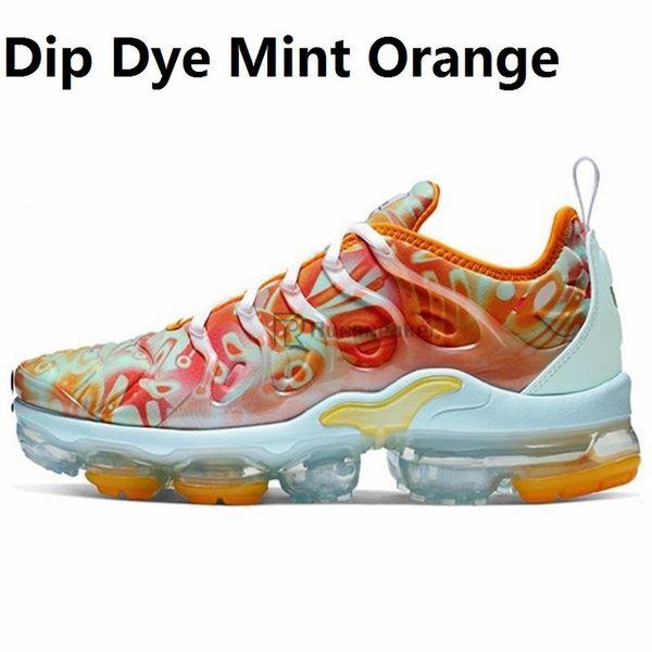 Monnaie orange dip-dye