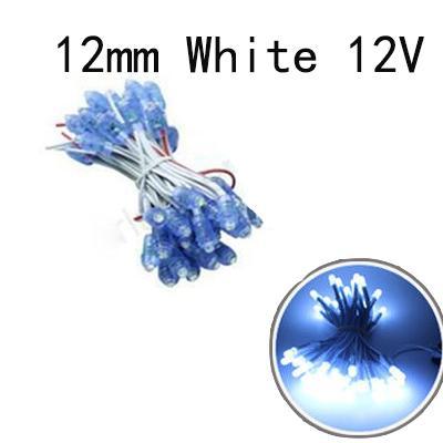 12mm Bianco 12V