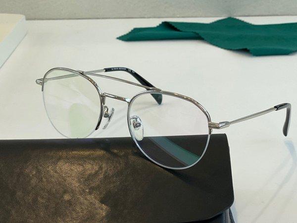 Серебряная рамка прозрачная линза