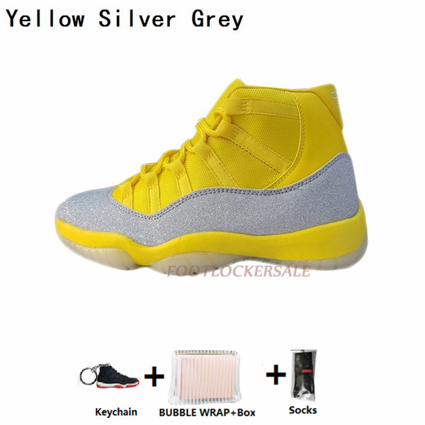 8-Yellow Silver Grey