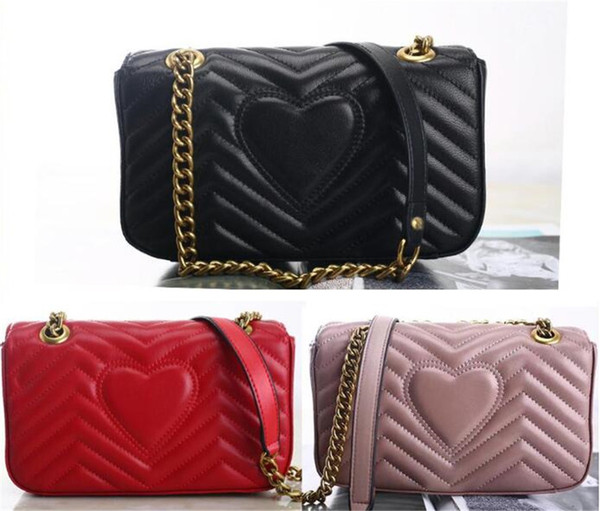 best selling New fashion ladies crossbody bags women handbags purses chain shoulder bags good quality leather classic hot sale style ladies tote bag