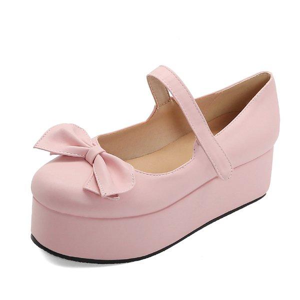 розовые туфли