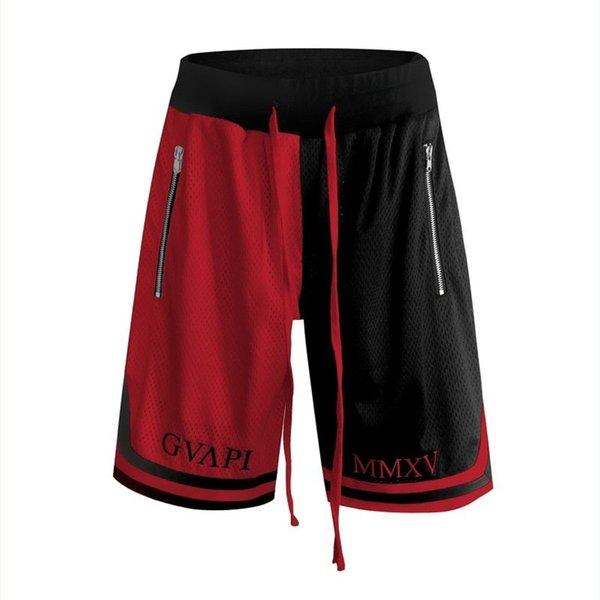 schwarz und rot