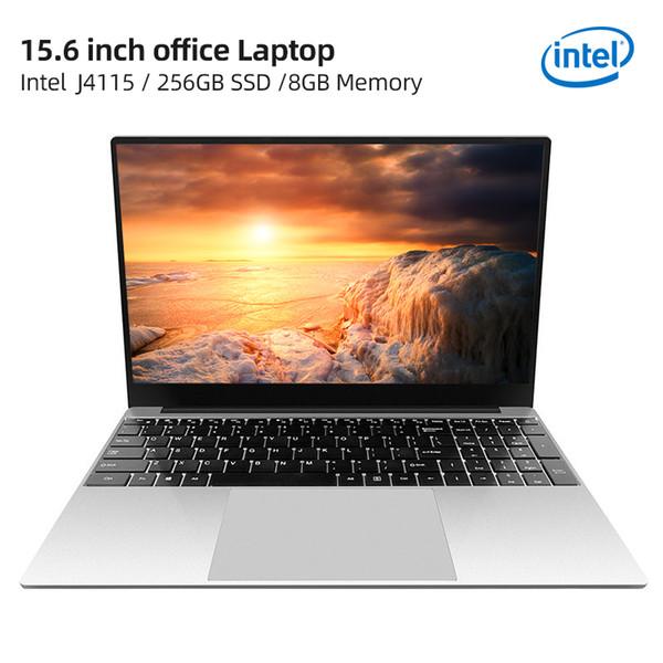 top popular IPASON Intel J4115 15.6 Inch 8GB RAM 256GB SSD Windows 10 laptop Quad Intel Full Size Keyboard Student Notebook 2020