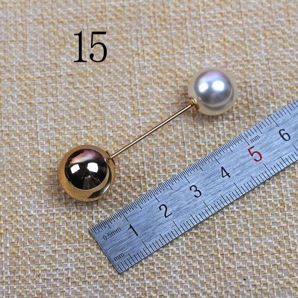No. 15 Or long 5.6 Big Perles Uv Gold 1