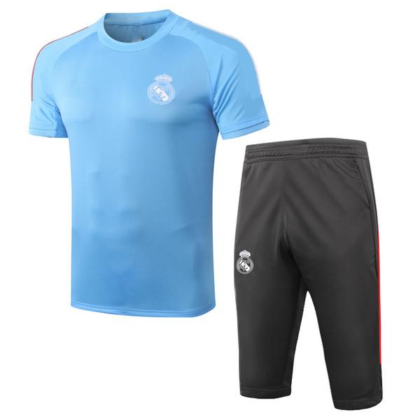 Kit à manches courtes bleue D285 # 2021