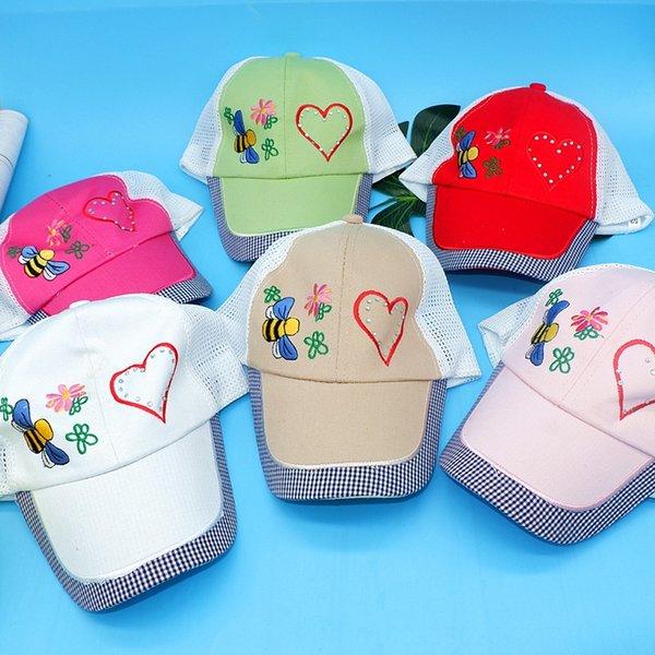 Amor Bee Net Hat Aleatório