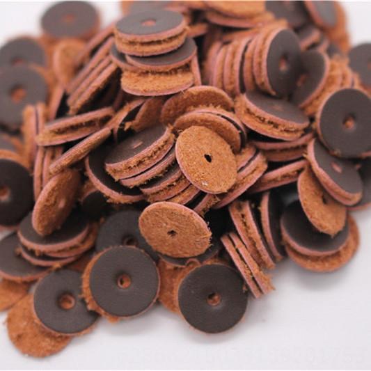 Brown Spessore 1mm500 Pieces-14 millimetri