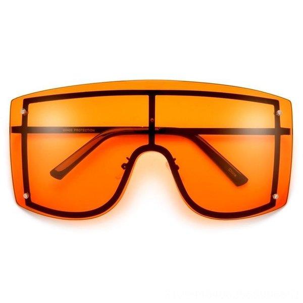 Black Frame Orange Yellow Slice