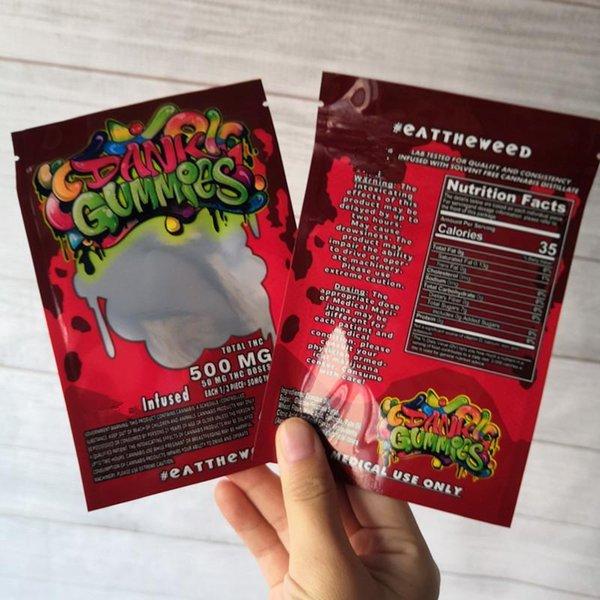 Dank Gummies Red Taschen