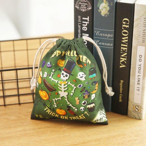19-стиль Череп сумка-One Size