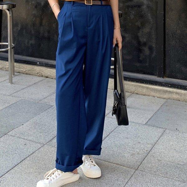 Göl Mavi Suit Pantolon
