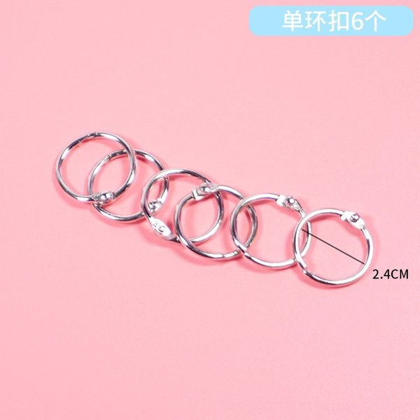 Notebook Single Ring Buckle 6-Dripping N