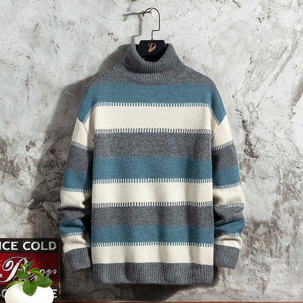 Hombre gris suéter