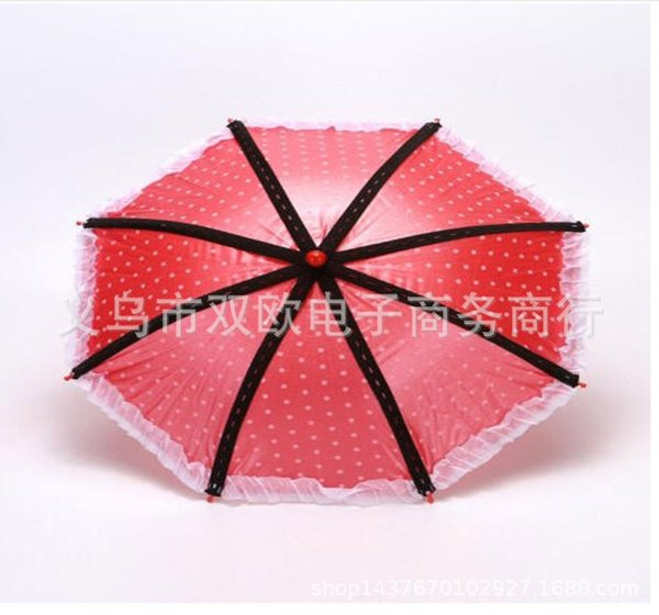 Red 8-strand Umbrella
