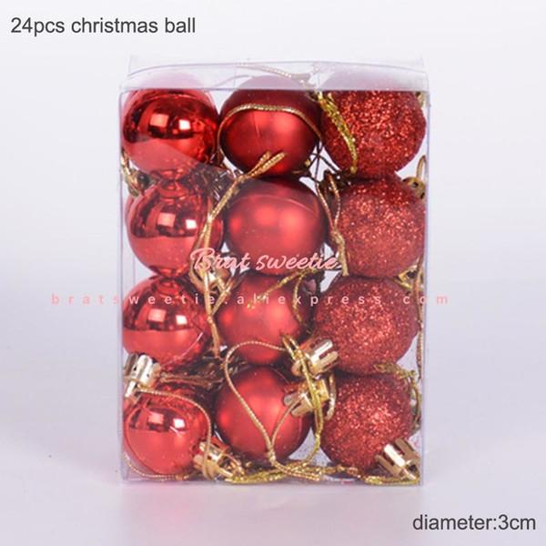 3cm palle rosse