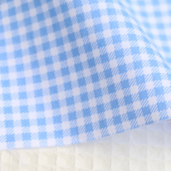 Синий Check-250x160cm 2.5м