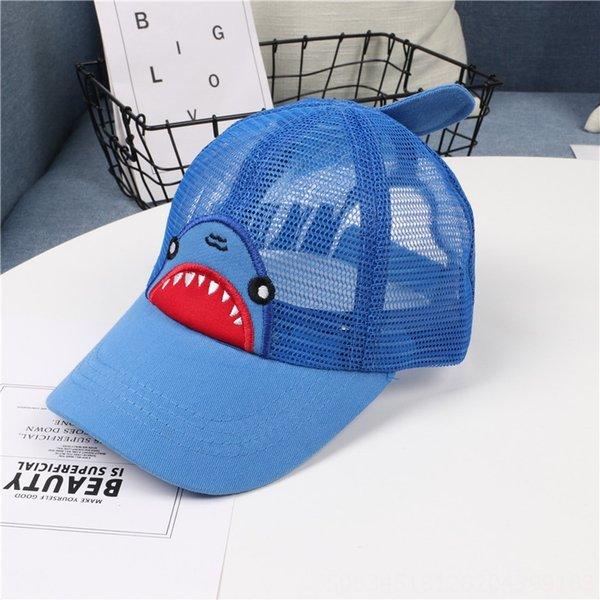 Shark Net Hat Синий