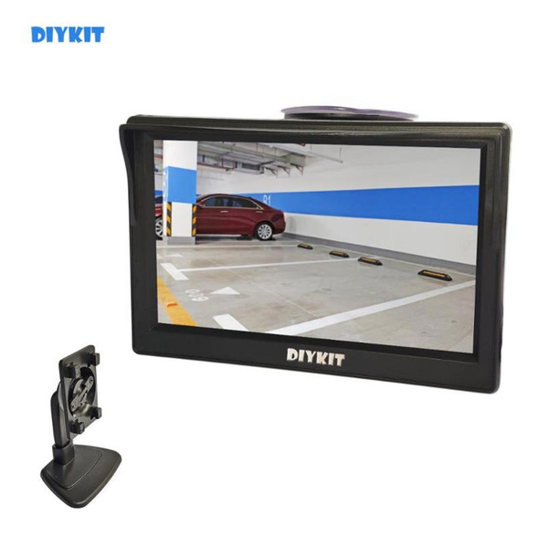 """best selling DIYKIT 5 Inch Car Monitor TFT LCD 5"""" HD Digital 16:9 800*480 Screen 2 Way Video Input For Reverse Rear View Camera DVD VCD"""