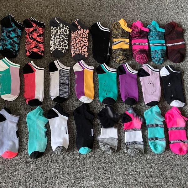 best selling New Fashion Women Girls Black Cotton Ankle Socks Short Socks Quick Dry Adult Sports Socks Basketball Teenagers Cheerleader Sock