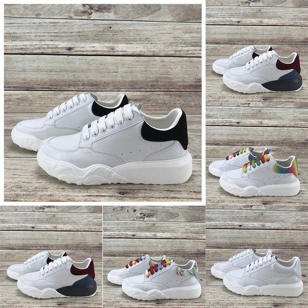 best selling Best Court Trainer Platform Shoes Men Women Casual shoes white black navy red blue Trainers multi-color rainbow glow in the dark Sneakers