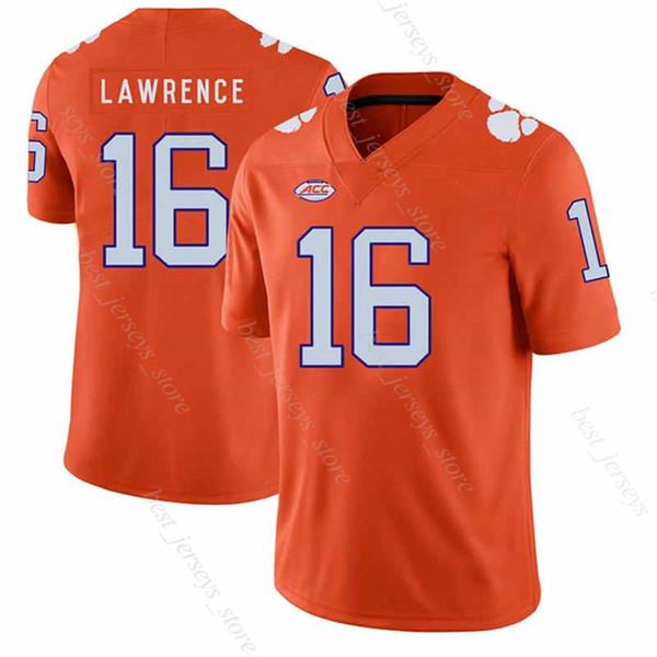 best selling Clemson Tigers Jersey 16 Lawrence Travis Etienne Jr. NCAA Jerseys 10 Tom Brady Saquon Barkley unifo