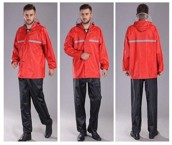 Oxford de Split Red Suit